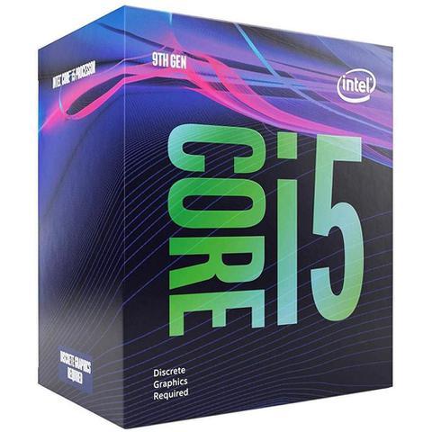 Imagem de Processador Intel Core i5-9400F Coffee Lake Cache 9MB 2.9GHz (4.1GHz Max Turbo) LGA 1151 S/ Vídeo BX80684I59400F