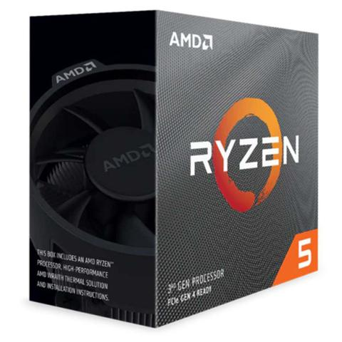 Imagem de Processador ryzen 5 3600 amd 100-100000031box 6 nucleos 12 threads 3.6 ghz (4.2 turbo) sem video integrado