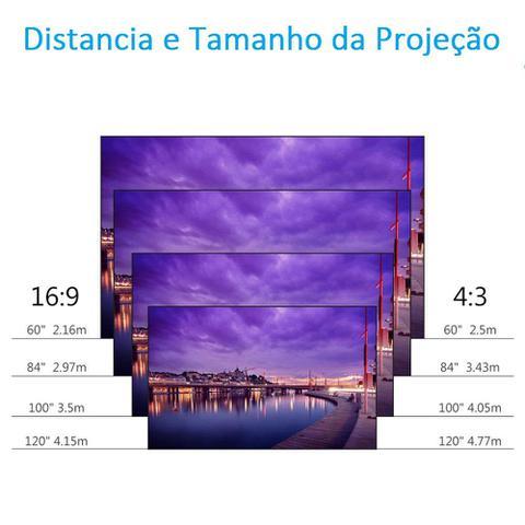 Imagem de Projetor De Led 3000 Lumens Hdmi