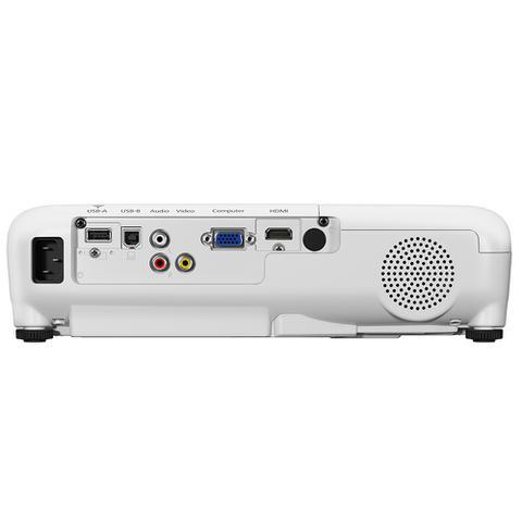 Imagem de Projetor Epson 3300 Lumens SVGA Datashow VGA / HDMI / RCA Bivolt Branco - S41+ - V11H842024
