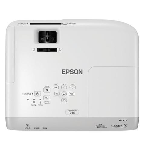 Imagem de Projetor Epson X39 3LCD Powerlite XGA 1 HDMI 3500 Lumens Bivolt