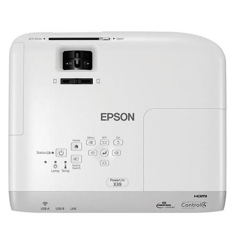 Imagem de Projetor Epson X39 3LCD Powerlite XGA 1 HDMI 3500 Lumens - Bivolt