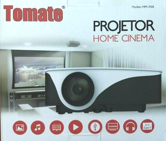 Imagem de Projetor Led Mini MPR-7008 Tomate