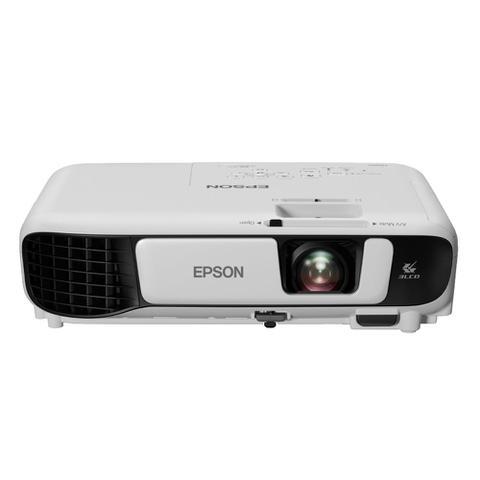 Imagem de Projetor Multimídia Portátil SVGA Epson PowerLite S41+ 3300 Lumens Branco