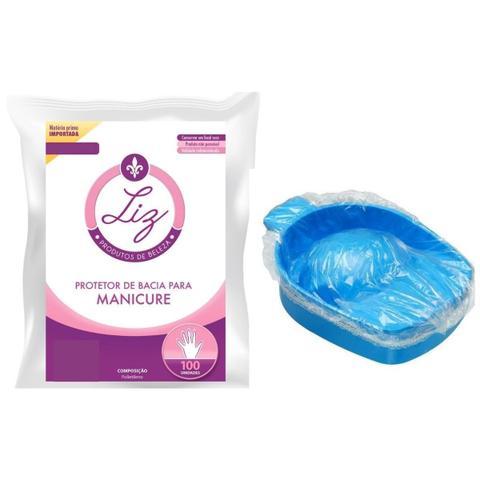 Imagem de Protetor Bacia Manicure 100 unidades Liz Produto de Beleza