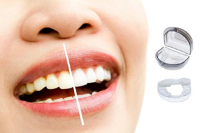Imagem de Protetor Bucal Anti Ronco Anti Bruxismo Ranger Dentes Clarear Dentes Circulador de Saliva 5em1