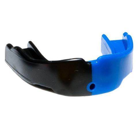 Imagem de Protetor Bucal Dual Color Profissional Prottector Preto e Azul