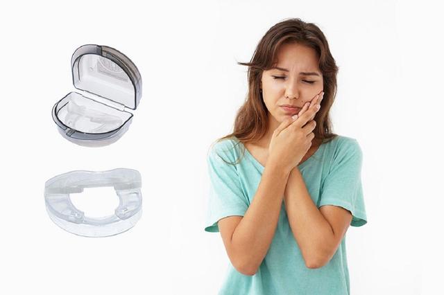 Imagem de Protetor Bucal Placa Dental Moldável Para Bruxismo Mordedor Placa Luctor Vamp 5em1