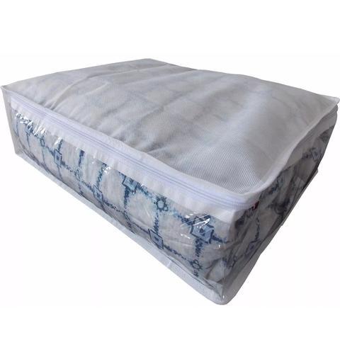 Imagem de Protetor De Coberta 1 Cobertor Ou Edredom Solteiro