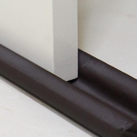 Imagem de Protetor de Porta Pó Duplo 1 m Bagun Impermeável Marrom Coleção Bagun