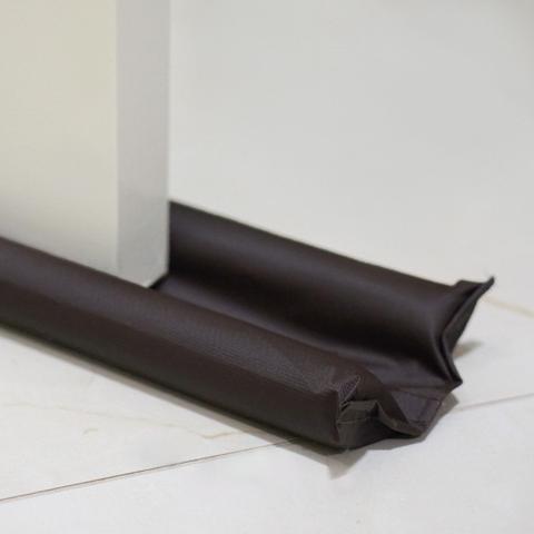 Imagem de Protetor de Porta Pó Duplo 80 cm Bagun Impermeável Marrom Coleção Bagun