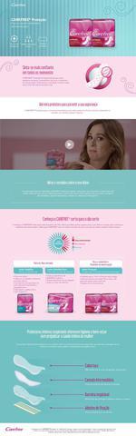 Imagem de Protetor Diário Carefree Proteção com Perfume c/ 15 unidades