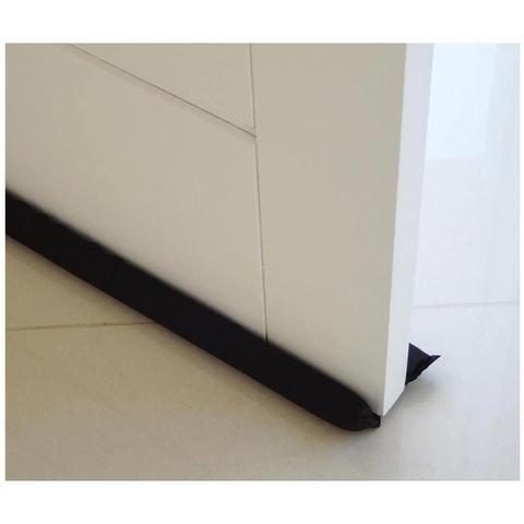 Imagem de Protetor e Veda Porta contra Insetos e Poeira 80cm - Preto