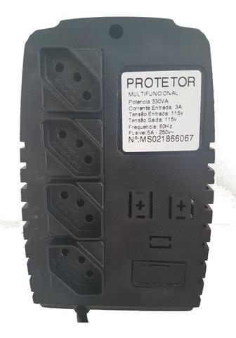 Imagem de Protetor Eletrônico Televisão, Vídeo Game, Computador - 110v