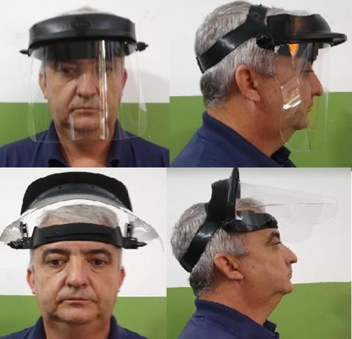 Imagem de PROTETOR FACIAL 8000-8001/08 INCOLOR Face Shield - EPI - Proteção respingos