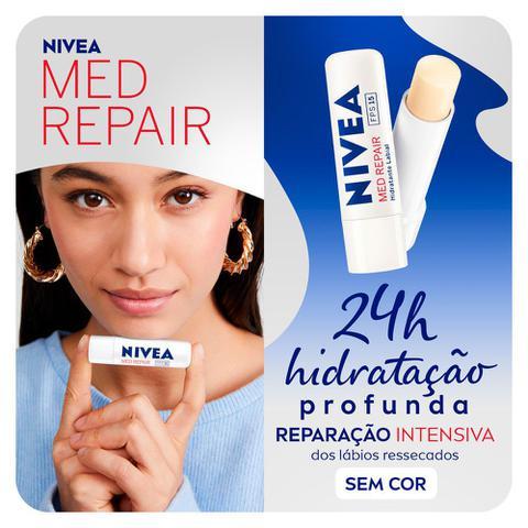 Imagem de Protetor Labial Nivea Med Repair FPS15