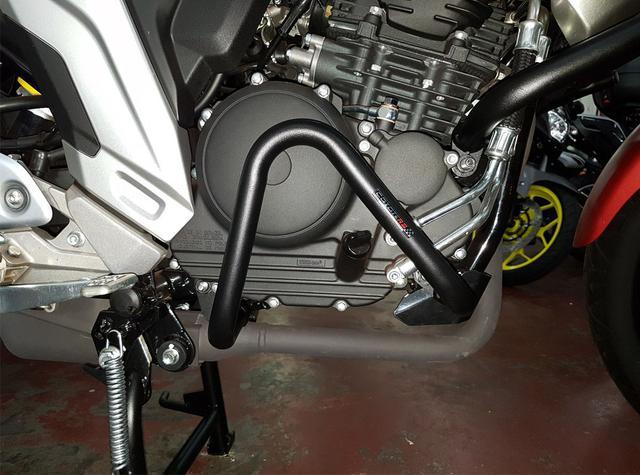 Imagem de protetor motor perna carenagem fazer 250 18/ completo