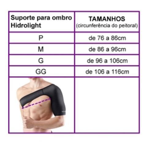 Imagem de Protetor para Ombro e Clavícula Neoprene