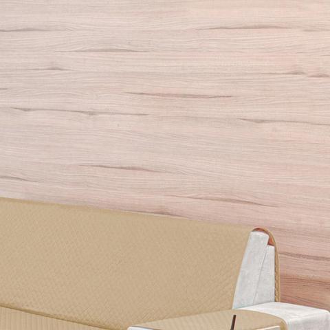Imagem de Protetor para Sofá 3 Lugares Elegance Dupla Face Caqui/Avelã