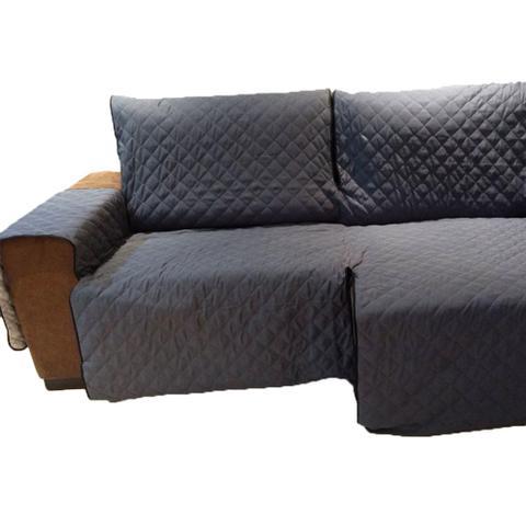 Imagem de Protetor Para Sofá De 3 Módulos Microfibra Matelado Retrátil Reclinável Com Assento De 2,30M