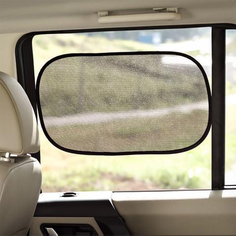 Imagem de Protetor Solar Duplo Para Automóvel Vidro Lateral Carro Uber