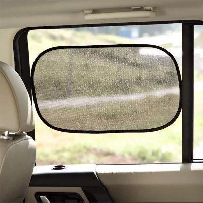 Imagem de Protetor solar duplo para carro 2 peças multilaser