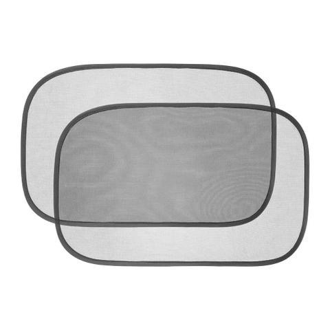Imagem de Protetor Solar Duplo Para Carro Anti UV Dobrável Preto Multikids Baby EZ-Cling - BB076
