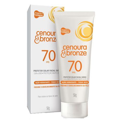 Imagem de Protetor Solar Facial Diário Cenoura  Bronze - FPS70
