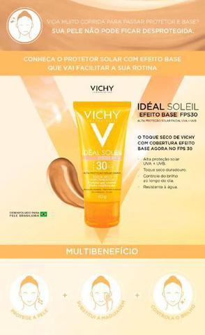 Imagem de Protetor solar facial vichy idéal soleil efeito base fps30 40g