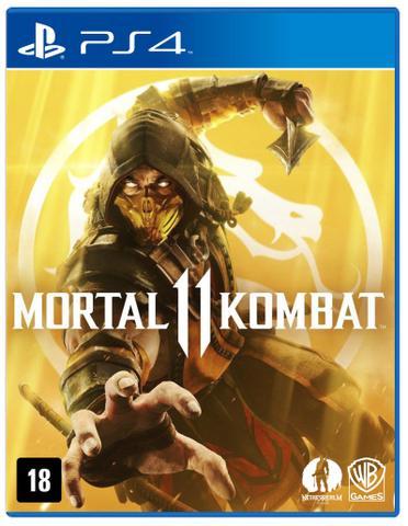 Imagem de PS4 - Mortal Kombat 11