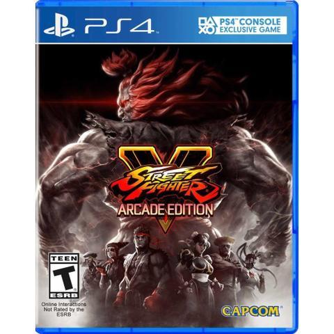 Imagem de PS4 - Street Fighter V - Arcade Edition