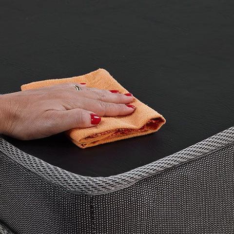 Imagem de Puff Multiuso 3 Em 1 Solteiro Chumbo com Travesseiro