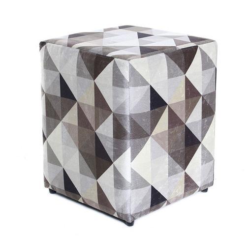 Imagem de Puff Quadrado 45cm Decorativo Estampado