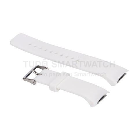 Imagem de Pulseira de Silicone Branco para Relógio Samsung Galaxy Gear S2 Sport