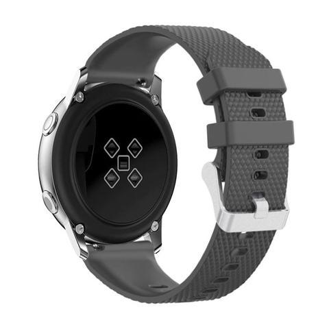 Imagem de Pulseira de Silicone Cinza para Relógio Samsung Galaxy Active