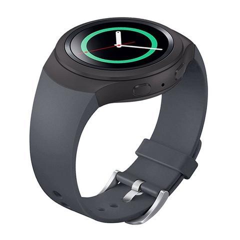 Imagem de Pulseira de Silicone Cinza para Relógio Samsung Galaxy Gear S2 Sport