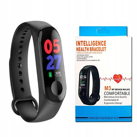 Imagem de Pulseira Inteligente Relogio Corrida Monitor Cardiaco M3