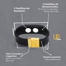 Imagem de Pulseira Magnética com Neodímio UPower