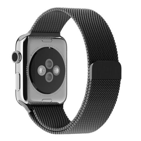 Imagem de Pulseira Milanese Para Apple Watch 38mm - Preta