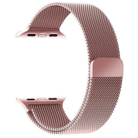 Imagem de Pulseira Milanese Para Apple Watch 42mm - Rosê