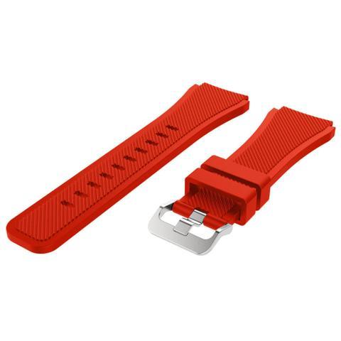 Imagem de Pulseira Silicone Para Samsung Gear S3 e Galaxy Watch 46mm, Gtr 47mm, Gear 2, Gear 2 Neo
