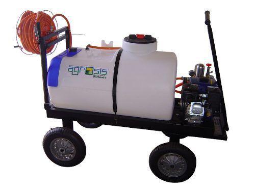 Imagem de Pulverizador 200 Litros Motor Gasolina 4t 5,5hp Bomba 27l