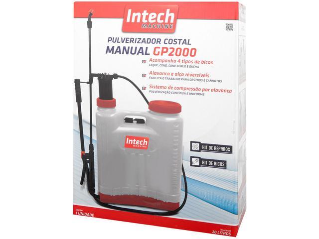 Imagem de Pulverizador Manual 20 Litros Intech Machine