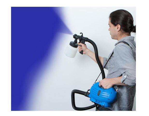 Imagem de Pulverizadora de Pintura Elétrica HVLP Axxor Paint Gun Com Bico de Metal - 220V