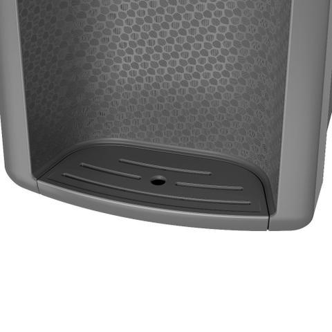 Imagem de Purificador de água Consul Cinza refrigerado, com proteção antibactérias