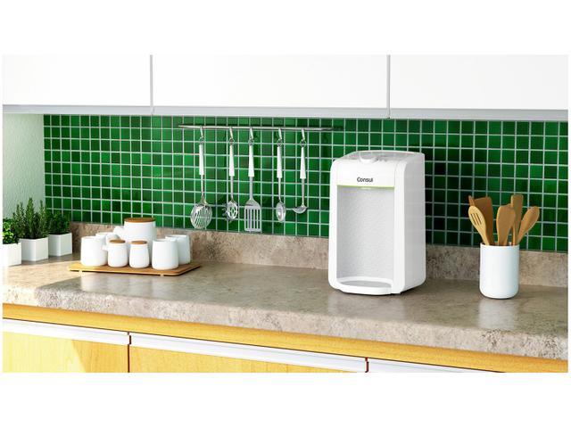 Imagem de Purificador de Água Consul Compacto com Filtragem Classe A Branco - CPC31AB