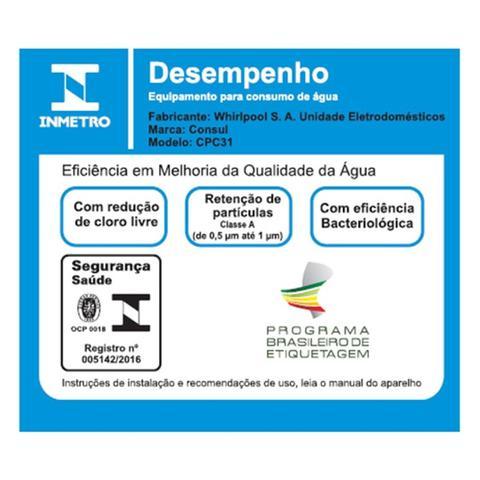 Imagem de Purificador de Água Consul CPC31AF Cinza C/ Eficiência Bacteriológica