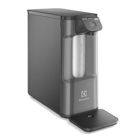 Imagem de Purificador de água Electrolux - Gelada, Fria e Natural Elétrico Compacto Pure 4x Cinza (PE12G)