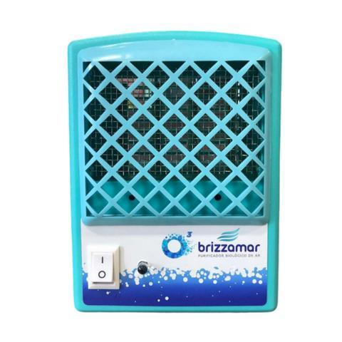 Imagem de Purificador Ionizador E Ozonizador De Ar,  80m³ - Brizzamar