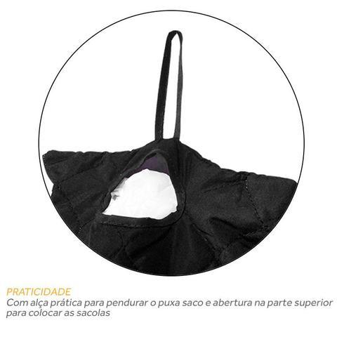 Imagem de Puxa Saco Porta Sacola Microfibra